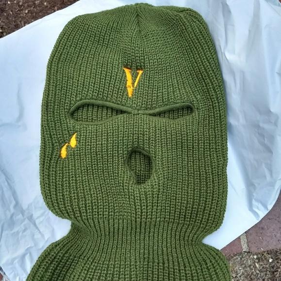 3eb93ddaf Vlone Olive Ski Mask ASAP BARI